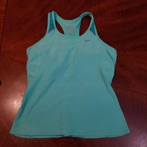 Nike brat top workout tank sz L
